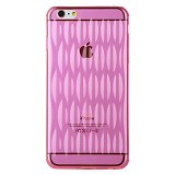 BASEUS Air Bag Case for Apple iPhone 6 Plus [AGAPIPH6P-09] - Pink - Casing Handphone / Case